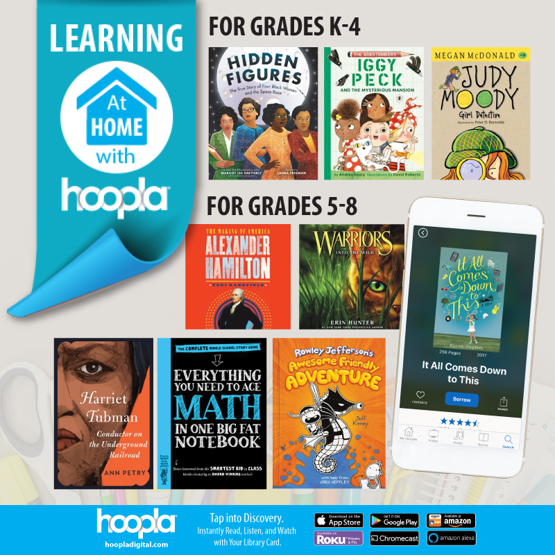 Learning at Home with hoopla thumb